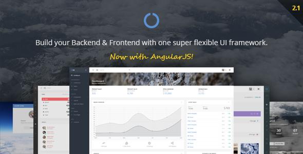 4. OneUI - Admin Dashboard Template & UI Framework