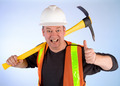 Happy Construction Worker - PhotoDune Item for Sale