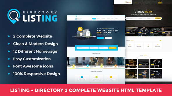 Listing - Directory Multipurpose HTML Template