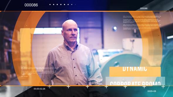 Corporate circle kuvaesitys - Corporate Video Näyttää After Effects Project Files