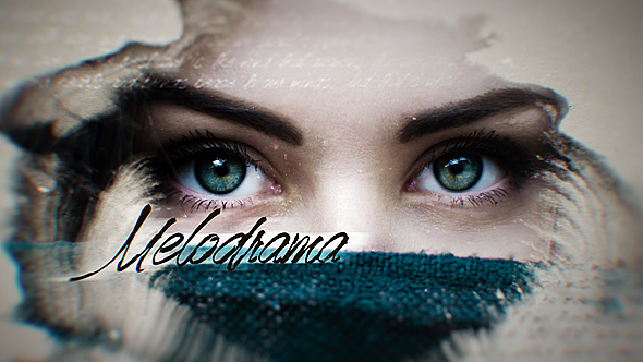 Melodraama - Water Video Näyttää After Effects Project Files