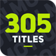 305 Titles Ultimate Pack