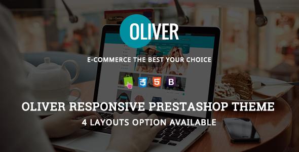 Oliver - Responsive Prestashop Theme