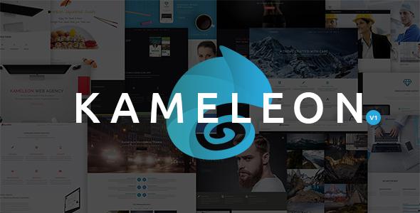 Kameleon - High Quality Multi-Purpose Theme