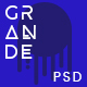 GRANDE - Creative Multipurpose PSD Template