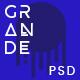 GRANDE - Creative Multipurpose PSD Template