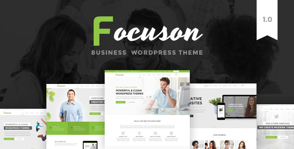 Focuson - Business WordPress Theme