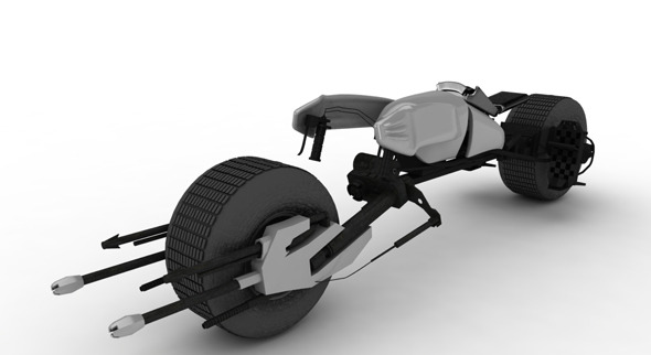 Batpod Bike - 3DOcean Item for Sale