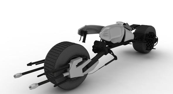 3DOcean Batpod Bike 1626956