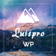 Luispro - One Page Creative WordPress Theme