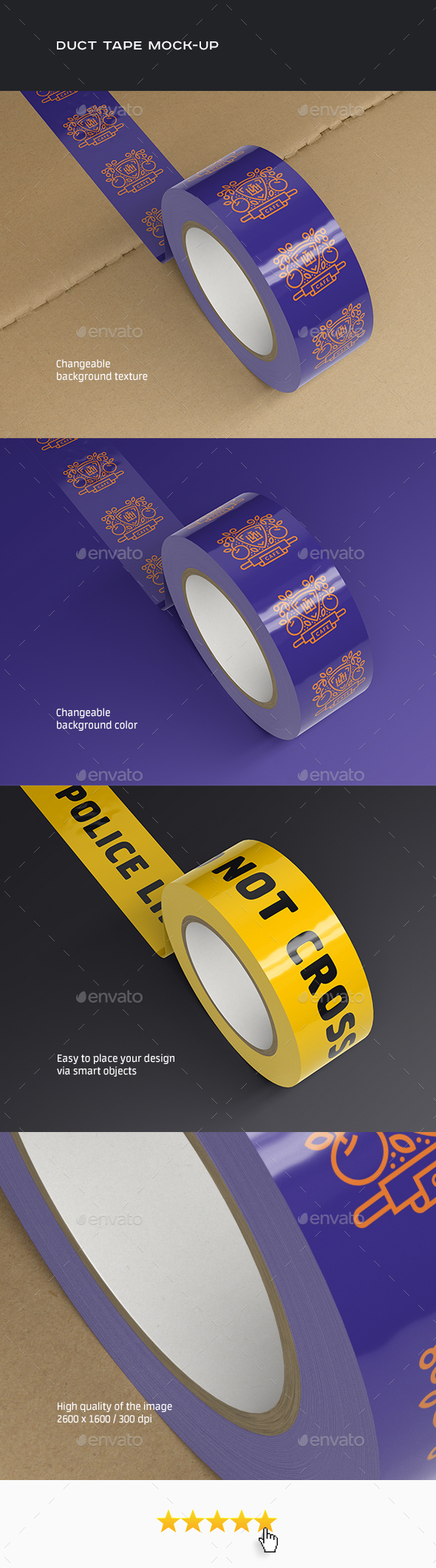 Duct Tape Mock-up (Stationery)