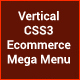 Vertical CSS3 Ecommerce Mega Menu