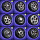 High detailed wheels collection. (10 wheels)