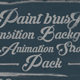 Paint Brush Transition and Animation Strokes