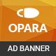 Opara | Shopping HTML 5 Animated Google Banner