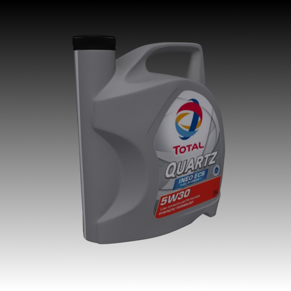 Motor oil engine bottle - 3DOcean Item for Sale