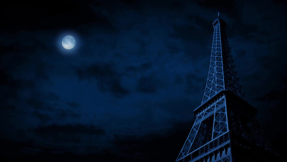 Download The Eiffel Tower Under Full Moon nulled download