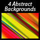 4 Abstract Backgrounds - GraphicRiver Item for Sale