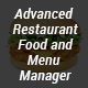 Advanced Restaurant Food and Menu Manager