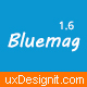 Bluemag - A Smart Scroll Blog / Magazine WordPress Responsive Theme