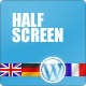 Halfscreen WP Template