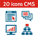 20 Icons CMS - Content Management System
