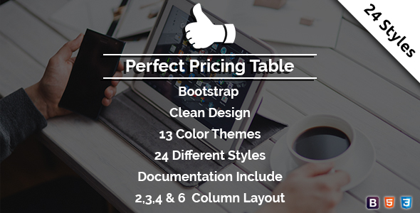 Download Perfect - Pricing Table