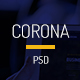 Corona Corporate PSD Template