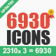 6930 New Vector Icons
