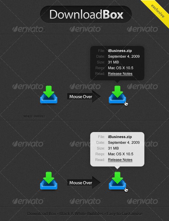 GraphicRiver DownloadBox 55423