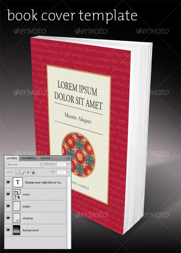 Graphicriver Book Cover Template : Book cover template graphicriver