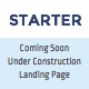 Starter - Under Construction, Coming Soon, Landing Page, Single Page Website HTML Template