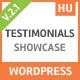 Testimoonials WordPress Plugin