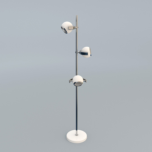 Modern Designer Lamp - 3DOcean Item for Sale