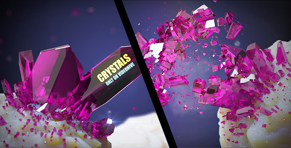 After Effects Project - VideoHive Crystals 1629693