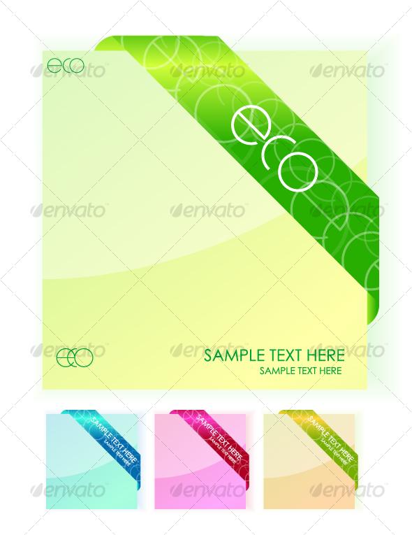 """Eco"" stickers - Miscellaneous Conceptual"