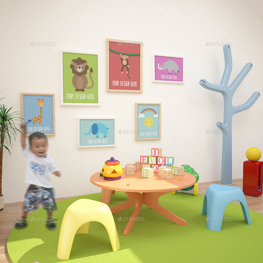 Children S Room Mockups