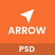 Arrow - Multi Concept PSD Template