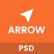 Arrow - Multi Concept PSD Template