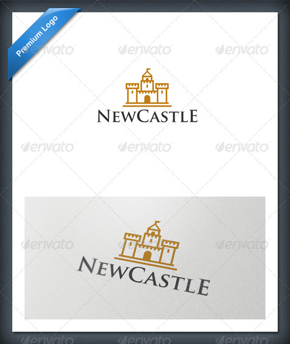 GraphicRiver Castle Logo Template 1630756