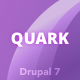 Quark: Responsive Multipurpose Drupal 7 Theme