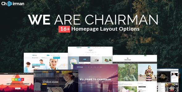 Chairman - Responsive Multi-Purpose Theme