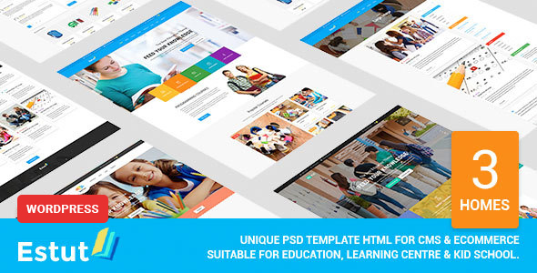 Download ESTUT | Elearning Online Course Premium Responsive Education WordPress Theme nulled download