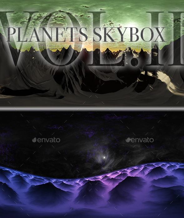 Planets Skybox Pack Vol.II - 3DOcean Item for Sale