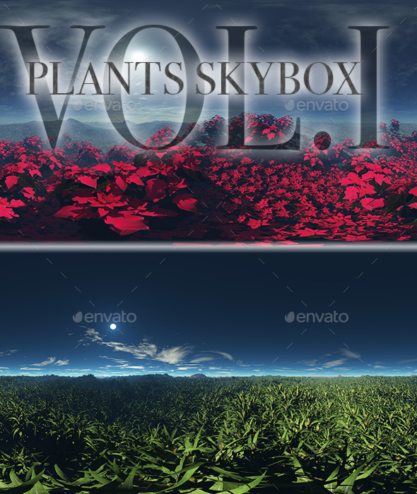 Plants Skybox Pack Vol.I - 3DOcean Item for Sale
