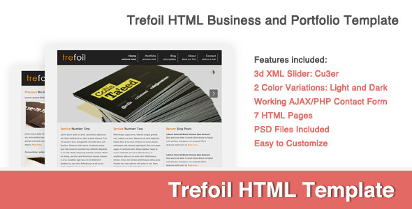 Trefoil Business/Portfolio Template