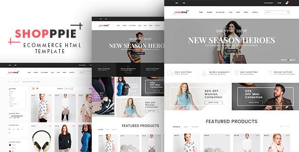 Download Shopppie - eCommerce Fashion Template