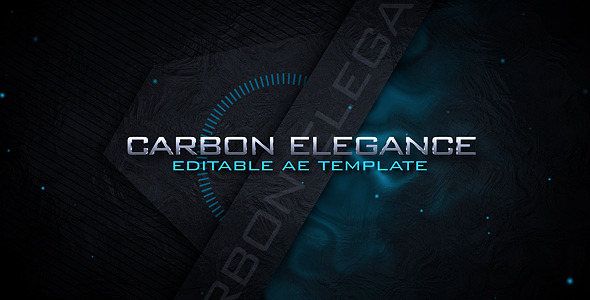After Effects Project - VideoHive Carbon Elegance Logo Intro 1631088