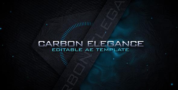VideoHive Carbon Elegance Logo Intro 1631088
