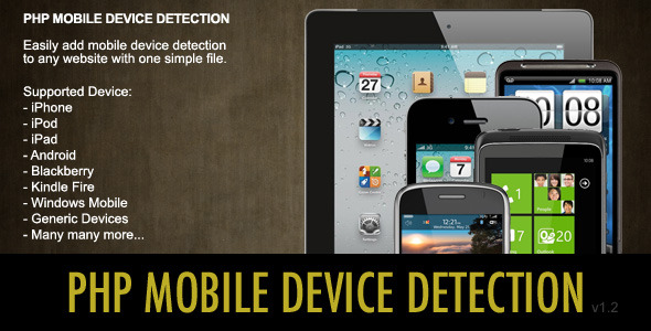 CodeCanyon Mobile Device Detection 1300297